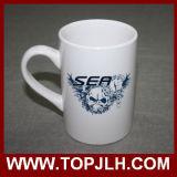Tasse de café de sublimation de CE Tasse de cérame blanche