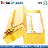 Rectángulo de joyería de empaquetado de papel de encargo del rectángulo del rectángulo de papel