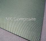 Fibra / chapa de fibra de carbono de alta resistência