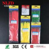 Venta caliente lazos zip / /bridas bridas de nylon autoblocante