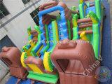 Corsa ad ostacoli gonfiabile estrema del Aqua gigante per i bambini
