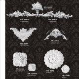 De Ornamenten hn-S040A&B van Appliques Pu van het Blad van de Rol van het polyurethaan
