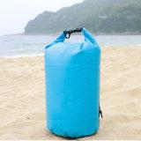 Sac à sec imperméable à l'eau, sac à rouleaux secoué avec deux sangles d'épaule pour le kayak Camping nautique