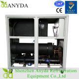 Refrigerador imediato da água industrial líquida em forma de caixa com compressores do rolo