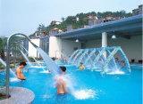 プールの鉱泉のステンレス鋼のアヒルの口のプールの滝