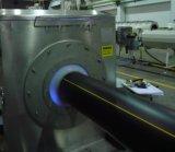 Sistema ultra-sônico em linha para o coeficiente da excentricidade das tubulações plásticas