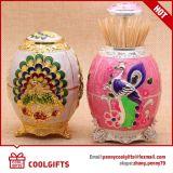 Russland-Art-Decklack-Lacktoothpick-Halter für Hochzeits-Dekoration-Geschenk