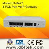 ATA VoIP con 4FXS Puertos de interfaz con los teléfonos PSTN (HT-842R)