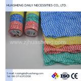 Nonwoven Spunlace Limpeza comprimido toalha, panos biodegradável