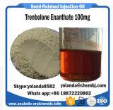 Olio steroide semifinito Trenbolone Enanthate 100mg (parabolan) per guadagno del muscolo