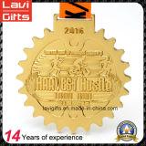Fábrica directamente 5k / 10k Maratón deporte de medalla metal