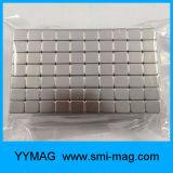 Aimants intenses superbes de néodyme de terre rare du bloc 10X10X10mm de Yymag
