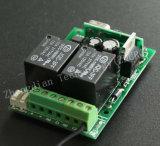 El receptor universal puede trabajar con el aprendizaje de código fijado código y la rueda del código 433MHz