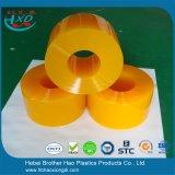 Regenbogen Anti-Insekt orange weicher glatter Plastik-Belüftung-Tür-Vorhang-Streifen Rolls