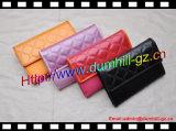 Яркое цветастое портмоне PU кожаный длиннее для маленьких девочек