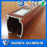 Hot Sale Window Curtain Rail 6063 Alloy perfil de extrusão de alumínio com grão de madeira