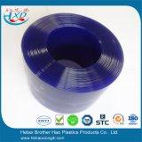 소음 통제 광경 방벽 파란 불투명한 비닐 플라스틱 문 지구 커튼