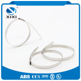 201/304/316 individu verrouillant des serres-câble d'acier inoxydable
