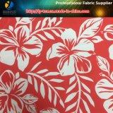 Fiore tropicale stampato sul tessuto di Microfiber del poliestere per la camicia/Beachwear (YH2130)