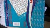 100 Af:drukken van Inkjet van de Laser van het Etiket van het Blad van het Document van de Sticker van X A4 het Witte Glanzende Zelfklevende Volledige