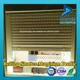 Perfil de alumínio para rolo porta do obturador Janela do armário de cozinha