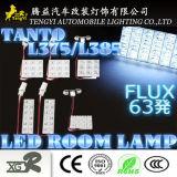 12V de techo interior de Automóviles de trabajo de techo Lámpara LED de alta potencia para Toyota Nissan Honda