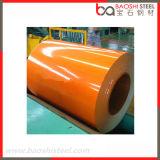 Le PE professionnel de la production PVDF a galvanisé les bobines en acier de couleur