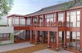 고품질 알루미늄 합금 프레임에 의하여 윤이 난 일광실, Sunhouse는 조립식으로 만들었다