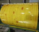 사우디 아라비아를 위한 황금 오크 나무로 되는 인쇄된 PPGI 0.5X1200mm