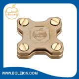 Massen-Blitzschutz-Kupfer-Quadrat-Band-Schelle für überlappende Bänder