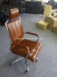 Черный кожаный самомоднейший стул офиса менеджера стула офиса (FOH-8083A)