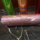 Película de carimbo quente da folha holográfica para a matéria têxtil e o empacotamento