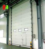 Промышленные накладных вид в разрезе автоматические двери