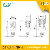 セリウムおよびすべてのシリーズの新しく高いPF LED 7Wの螺線形の電球