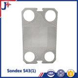 Равного SS304/ Ss316L Sondex S43 Пластина для пластины теплообменника с производителем цене