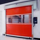 자동적인 Reinforec 외부 급류 PVC 롤러 셔터 문 (HF-221)
