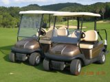 Тележка гольфа Seater алюминиевого автомобиля 2 клуба шассиего электрическая