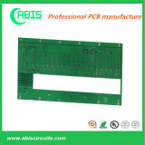 PCB de multicamada com gold plating e máscara de Solda Verde.
