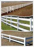Style architectural extérieur permanent Belle clôture en vinyle PVC