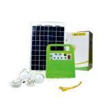10W Sistema de Energía Solar con luz LED