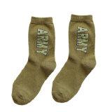 Hommes Chaussettes en laine d'armée Chaussettes d'équipage de l'armée