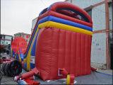 巨大で膨脹可能な跳躍の警備員は遊ばす子供のゲーム(T8-305)のための障害を