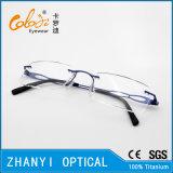 Облегченная Rimless Titanium оптически рамка с шарниром (5006)