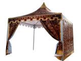 يتاجر عرض [غزبو] كبيرة [بغدا] خيمة لأنّ عمليّة بيع