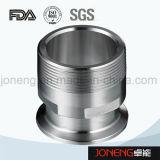 Adaptador sanitario del tubo del grado del acero inoxidable (JN-FL4001)