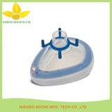 Máscara facial de silicona de anestesia médica con certificación Ce / ISO