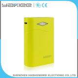 Alta Capacidade 6000mAh / 6600mAh / 7800mAh Lanterna Mobile Power Bank Charger