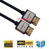 남성 2.0 HDMI 케이블에 OEM 고품질 고속 남성