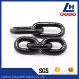 Il nero ha verniciato la catena di sollevamento di collegamento lungo saldata G80