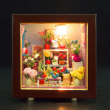 Nuevo estilo niños Juguetes de madera casa de muñecas